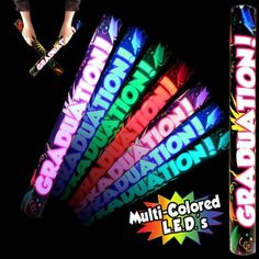 Send graduates off in style with this graduation LED light-up glow lumiton! Cap Decorations, Stick Figures, Light Up, Party Favors, Party Supplies, Glow, Make It Yourself, Graduation Parties, Graduation Celebration