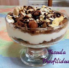 Διατροφή και νέα ζωή ( Δίαιτα των 3 φάσεων ): Το γλυκάκι της τεμπέλας Tiramisu, Pudding, Healthy Recipes, Ethnic Recipes, Desserts, Blog, Tailgate Desserts, Deserts, Puddings
