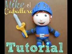 TUTORIAL MIKE EL CABALLERO - MIKE THE KNIGHT - YouTube Knight Cake, Knight Party, Castle Birthday Cakes, Castle Cakes, Dragon Baby Shower, Mike The Knight, Kids Party Themes, Fondant Tutorial, Novelty Cakes
