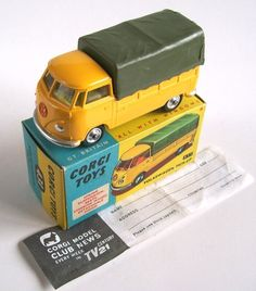 Rare Corgi #431 VW Pickup Van color combo