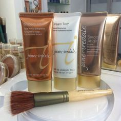 """""""It's like therapy for your skin"""" #janeiredale products have been lovingly created with your skin in mind! Formulated to suit a variety of skincare and makeup needs, our products are available in shades to flatter a wide range of skin tones too! Which jane iredale product can you not live without? Tell us below, there might just be something in it for you ;) ! #beauty #mineralmakeup #ausbeautyblogger #crueltyfree #vegan #veganbeautyblogger"""