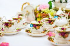 Royal Albert tea set Old Country Roses by FlyingSquirrelNest