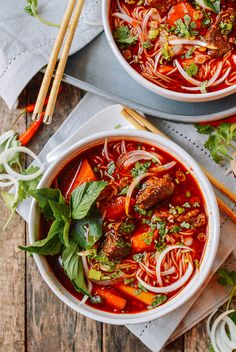 Bo Kho is a spicy and flavorful Vietnamese beef stew that makes a pretty epic bowl of noodle soup