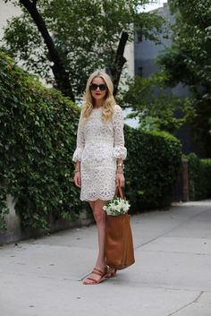 Dress: Anna Sui c/o BHLDN. Shoes: Everlane. Bag: Cuyana 'Tall Tote'. Sunglasses: Karen Walker 'Number One'. Lips: Stila 'Beso'. Jewelry: Cartier Watch, David Yurman, Stella and Dot. aug