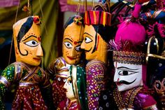 Kathputlis of Rajasthan - http://www.myeffecto.com/r/23hm_pn