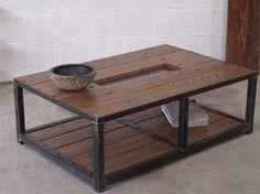 table basse de salon bois amp mtal table basse contemporaine