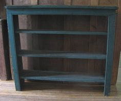primitive wall shelves | Primitive Green Shelf | collectivator.com