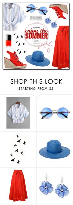 """""""Enjoy the summer"""" by beograd-love ❤ liked on Polyvore featuring House of Lafayette, Lisa Marie Fernandez, Rina Limor and Chanel"""