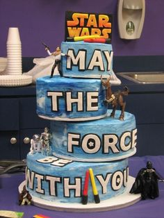 ideas for star wars themed grooms cake