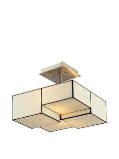 Artistic Lighting Semi Flush Ceiling Mount, Brushed Nickel, http://www.myhabit.com/redirect/ref=qd_sw_dp_pi_li?url=http%3A%2F%2Fwww.myhabit.com%2Fdp%2FB00HUW420U%3F