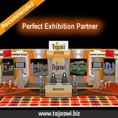 Exhibition Stall Designer in India at www.tejaswi.biz Exhibition Stand Designer, Stand Builder and Exhibition Contractor company delivering exhibition stands all over India: Mumbai, Delhi, Bangalore, Chennai, Hyderabad, Ahmedabad, Pune, Noida, Gurgaon, Coimbatore