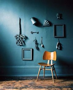 blue wall items