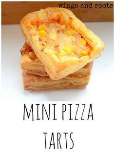 mini pizza tarts baby led weaning