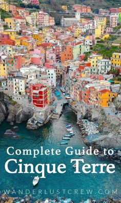 The Complete Guide to Cinque Terre, Italy. If you're planning a trip to Italy, Cinque Terre is a must. This collection of five UNESCO Heritage towns is unlike anywhere you've ever been in Italy. Travel Europe Cheap, Italy Travel Tips, Travel And Tourism, European Travel, Travel Destinations, Travel Deals, Travel Agency, Travel Guides, Italy Tourism