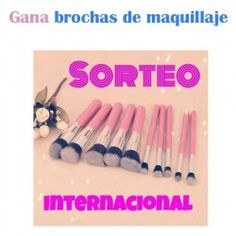 gana #brochas de maquillaje ^_^ http://www.pintalabios.info/es/sorteos-de-youtube/view/es/103 #Internacional #Sorteo #Maquillaje