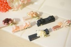 ベビーヘアピンの作り方♡|すーさんのゆる〜い育児日記(๑´ᴗ`๑) Diy Hair Accessories, Ribbon Bows, Ribbons, Kids Jewelry, Flower Making, Hair Pins, Diy Hairstyles, Usb Flash Drive, Kids And Parenting