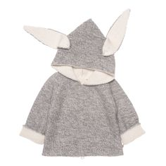 Oeuf // Reversible Donkey Hoodie $152.00. The cutest!