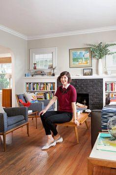 #PORTLANDIA star @Carrie_Rachel shows off her #Portland bungalow: