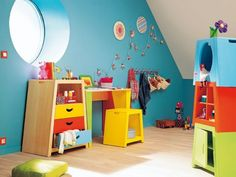Full size of meuble: deco lit enfant deco chambre garcon – faho forfriends génial deco Kids Play Spaces, Mad About The House, Desk Set, Room Interior Design, Kids Decor, Home Decor, Colorful Decor, Kids Furniture, Kids Bedroom