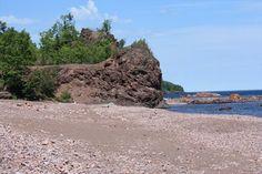 Black Beach - Silver Bay, MN - Beaches on Waymarking.com  #MSPGetaway
