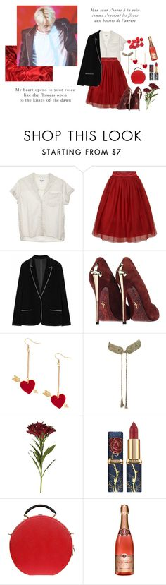 """Voix;"" by worldwidehandsome ❤ liked on Polyvore featuring Steven Alan, Cesare Paciotti, OKA and Dolce&Gabbana"