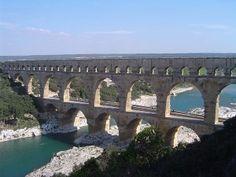 Acueducto Pont du Gard, Francia