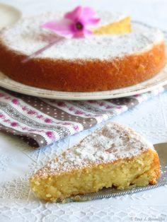 Torta caprese al limone (sem glúten)