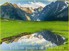 Pakistan is a beautiful country.