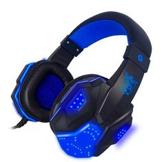 Plextone PC780 Bass Stereo Gaming Headphone Headsets Headband + LED Light with Mic Noise Reduction For Computer Gamer PS3 //Price: $24.00      #shopping