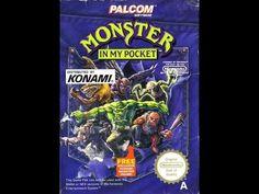 Monster In my pocket nes Nintendo entertainment system