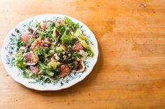 Halloumi and Grapefruit Salad recipe on Food52