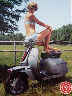 Lambretta Vigano Postcard