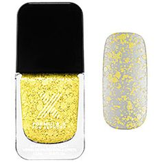 Formula X For Sephora - Xplosives Top Coats in Mind Blowing - yellow confetti   #sephora