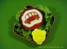 Cute Food For Kids?: Apple Carving