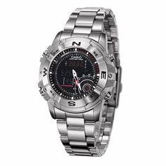 Active New Sports Watch Men Stopwatch Waterproof Wristwatch Pu Wristband Watches Alarm Clock Erkek Kol Saati Smart Clock Driving A Roaring Trade Digital Watches