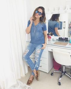 look do dia all jeans por Juliana Goes