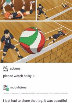 Haikyuu is the one of the best anime ever Daisuga, Bokuaka, Kagehina, Kenma, Kuroo, Hinata, Haikyuu Volleyball, Volleyball Anime, Volleyball Workouts