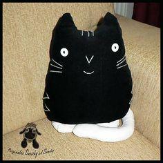 Originalne-Darceky / vankúšik Black-Kitty