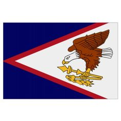 Shop Flag of American Samoa large Fleece Blanket created by worldcuprugby.