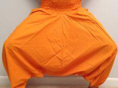 Clementine orange Unisex Yoga Harem Pants in 100 by theBilvatree, $17.99 Yoga Harem Pants, Unisex, Trending Outfits, Skirts, Shopping, Vintage, Etsy, Fashion, Moda