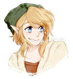 Ruebird makes such amazing Link doodles!!! I love this one