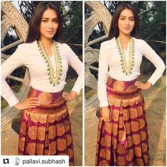 Celeb Spottings  Never thought our statement kundan mala could look that fantastic on a shirt  #Repost @pallavi.subhash with @repostapp  Beautiful @pallavi.subhash Kick starting #NarudaDONORuda Promotions in Hyderabad  @mortantra Jewellery  styled by @_ankiitaa_ & @darshitap23
