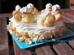 sugarfreecakes: Sugar free St Honoré cake