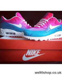 ef1da13f35fe Nike Air Max 90 Randy Pink Blue White Cyber Monday Air Max 90
