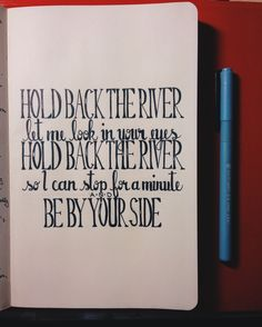James Bay - Hold Back The River lyrics