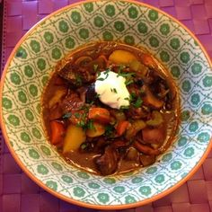 Heather's Helpings: One Pot Beef Stew with Pumpkin Ale