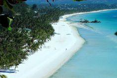 Le migliori spiagge del mondo - White Beach, Filippine - panoramica