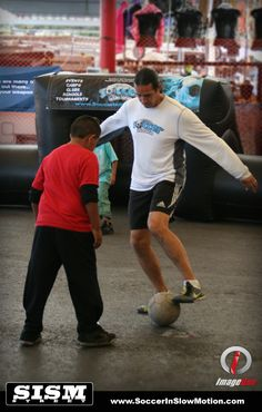 Louie Mata from Soccer In Slow Motion - Panna.