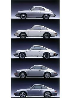 Porsche Air-cooled Generations by Auto Clasico, via Flickr