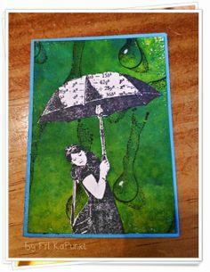 Paperminutes - #325 #Regentropfen #raindrops #challenge